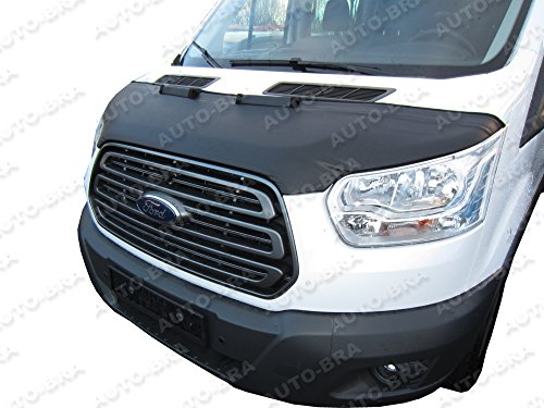 Hood Bra Front End Nose Mask for Ford Transit Fourth Generation Since 2013 Bonnet Bra STONEGUARD Protector Tuning