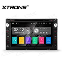 XTRONS HDMI Android 7.1 Quad Core 7 Inch HD Digital Touch Screen Car Stereo Radio DVD Player GPS for VW Old Passat B5 Jetta Polo