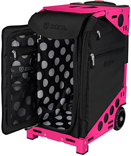 Zuca Oxford Pro Artist Bag w/ Frame & 5 Storage Pouches (Neon Pink)