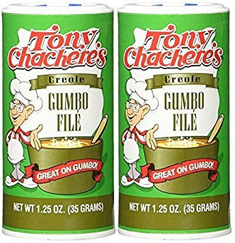 Tony Chachere's Creole Gumbo File' - 1.25 Ounce Canister (Pack of - Chacheres Gumbo File Tony
