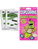Exploding Pickle Candy - Accoutrements - Funny Gift Idea - Pop Rocks - Gag Novelty Sour Dill Archie Mcphee