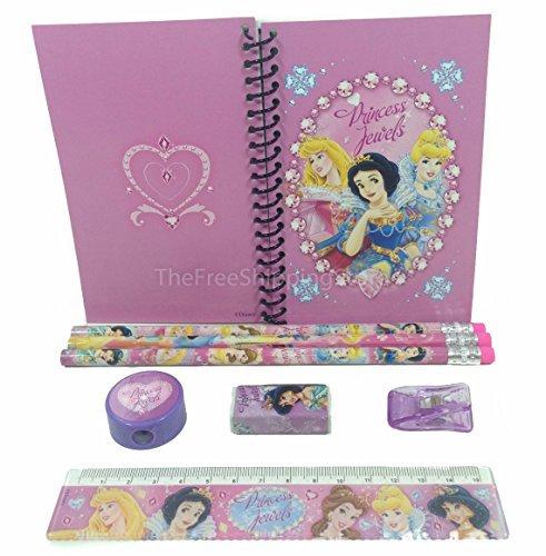 Disney Princesses Stationary Set for Kids Pink - Princess Stationary
