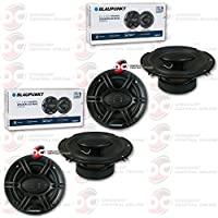 4 x Blaupunkt 6.5 4-way Car audio coaxial speakers 6-1/2 720W