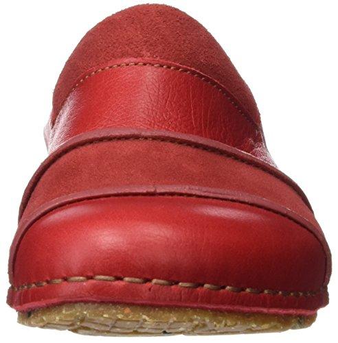 Kunst Damer 0454 Memphis Creta Sandal Med Plateau Rød (carmin) o9kNn