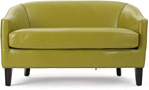 Deal of the week: Christopher Knight Home Justine Leather Loveseat