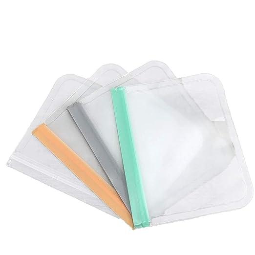 Bolsas reutilizables de silicona de calidad alimentaria ...