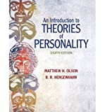Introduction to Theories of Personality, Olson, Matthew and Hergenhahn, B. R., 0205015220