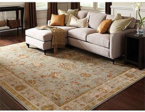 Oriental Weavers 4446C Casablanca Area Rug, 7 10 x 10 10 , Blue Grey