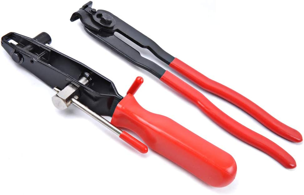 CV Boot Clamp Pliers - Joint Ear Clamp Banding Kit - Cooling System, Vacuum Hose Clamping Set