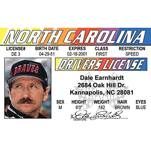 befd3f4e498 Signs 4 Fun Nride Earnhardt s Driver s License