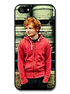 Ed Sheeran Red Hoodie Posing Case For Ipod Touch 4 Cover