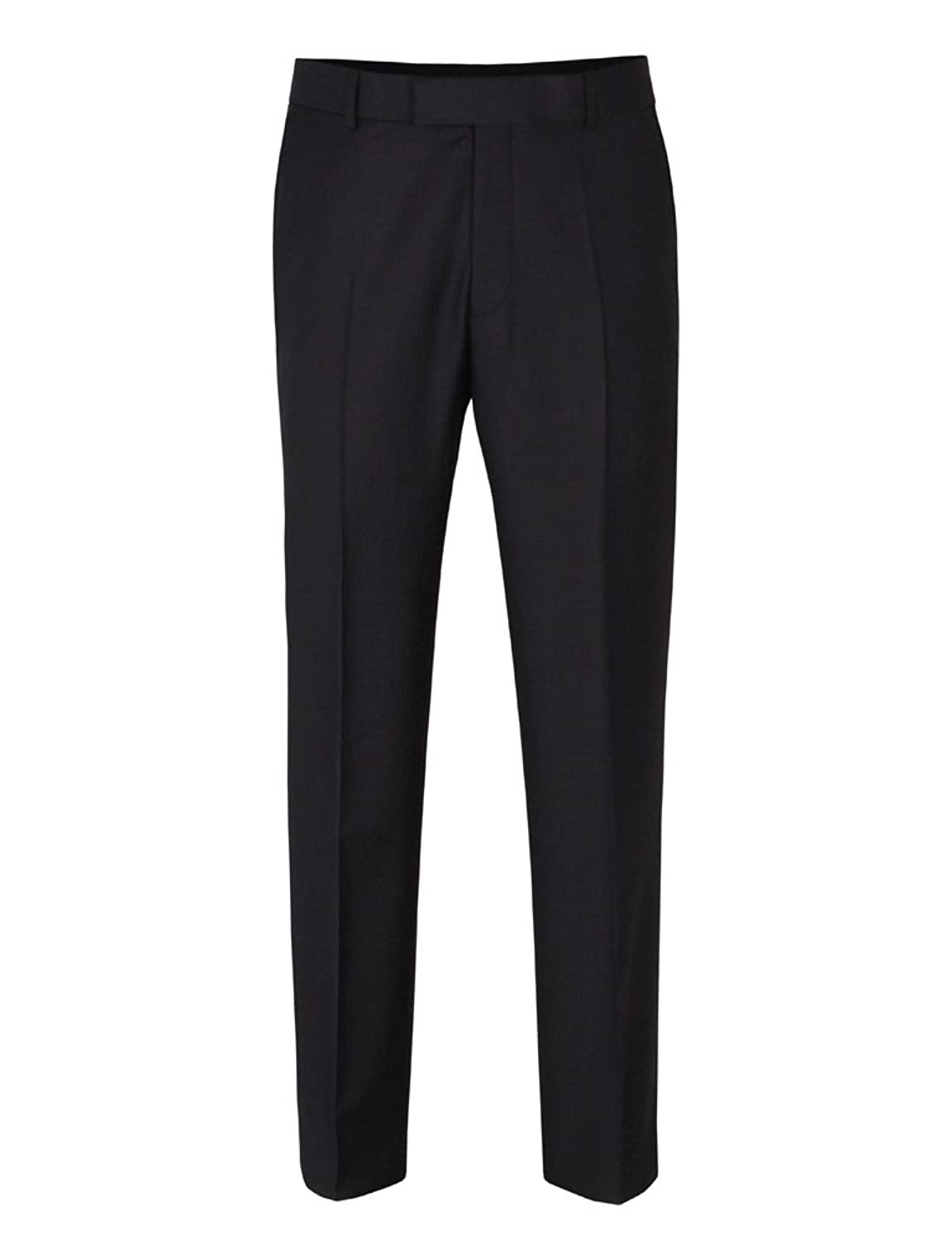 Suit Direct Racing Green Herringbone Trouser - Classic Regular Fit Mixer Trouser