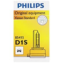 Philips D1S Standard Xenon HID Headlight Bulb, 1 Pack