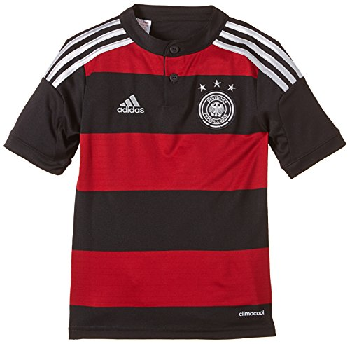 adidas Kinder Trainingsshirt DFB Trikot Away WM, Schwarz / Rot, 164, G74524