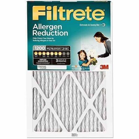 3M Filtrete Allergen Reduction - Disposable 3m Filter Furnace