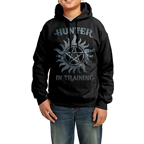 KIHOYG Youth Supernatural Hunter In Training Hooded Sweatshirt