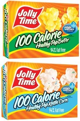 Jolly Time Healthy Pop 100's