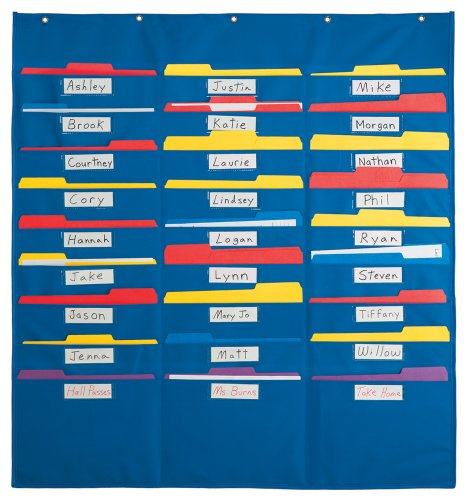 Charts Free Classroom - Lauri Organization Pocket Chart