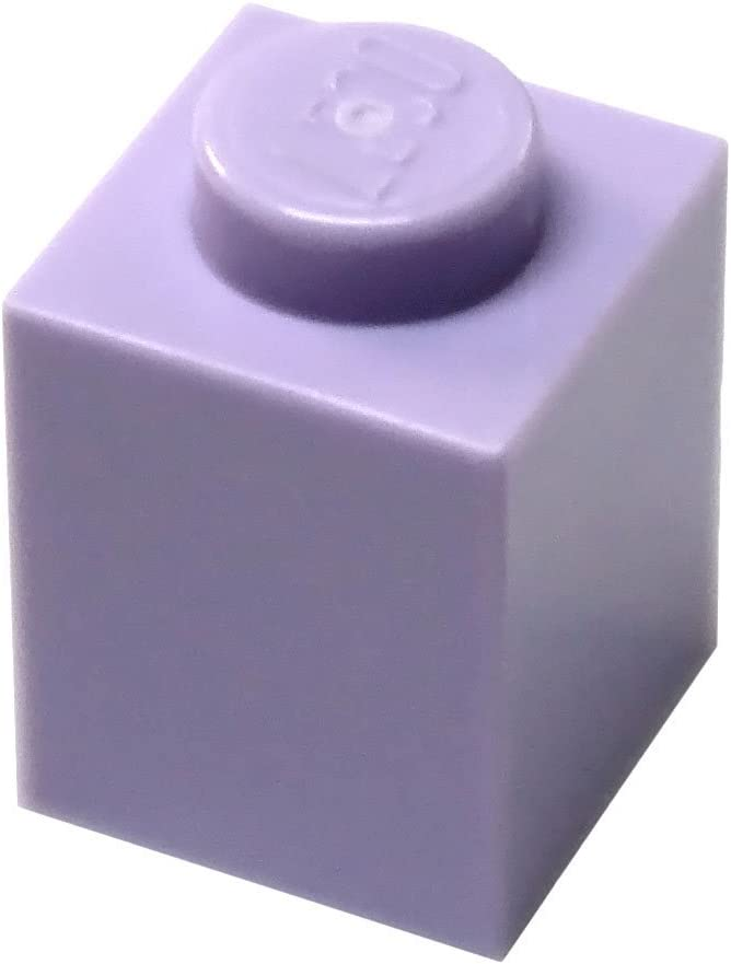 LEGO Parts and Pieces: Lavender (Medium Purple) 1x1 Brick x200