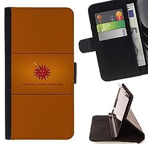 Momo Phone Case / Flip Funda de Cuero Case Cover - Erguida sin doblar ininterrumpida;;;;;;;; - Motorola Moto E ( 2nd Generation )