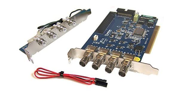 Amazon.com: Geovision GV-600 – 4 Analog D1 ordenador PCI-E ...