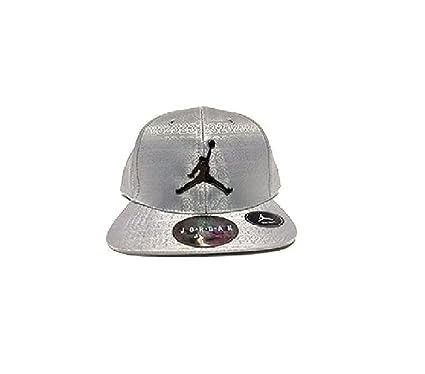 46de95707dd0d5 ... amazon silver jordan jumpman baseball cap infant size 62437 e0e5b
