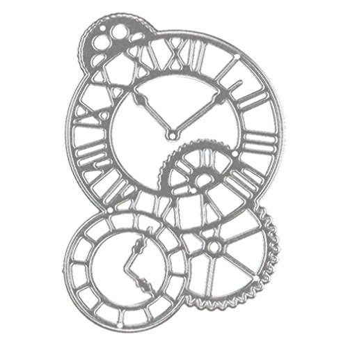Clock Making Wood - Hot Sales! Showking Cutting Dies Stencil Metal Mould for DIY Scrapbook Album Paper Card (Clock)