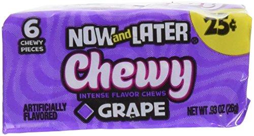 Now and Later SOFT Grape (Now And Later Soft Grape compare prices)