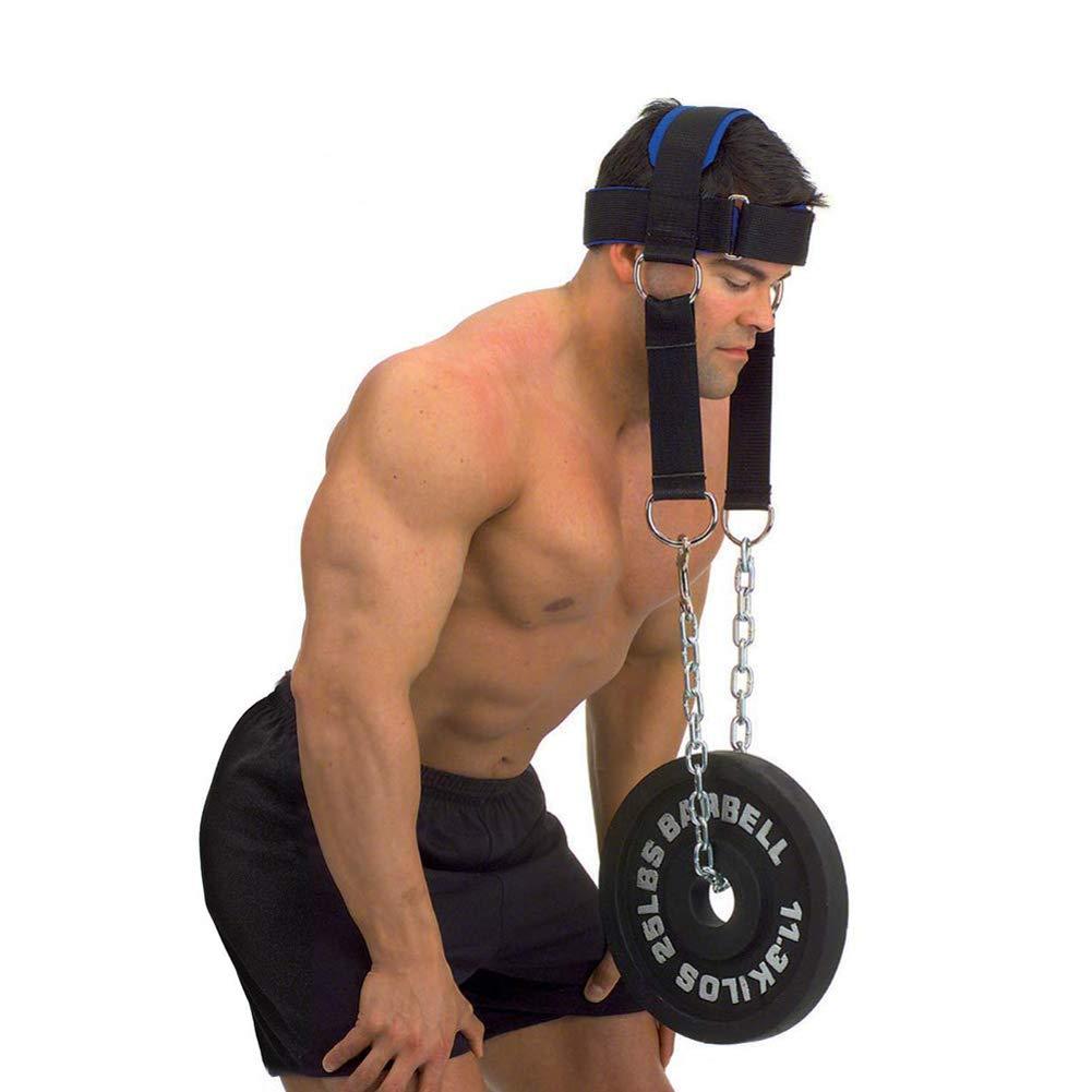 workouty acolchado arnés de cabeza con cadena Crossfit peso ...