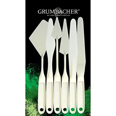 Grumbacher Palette Knife Set, 6-Pack