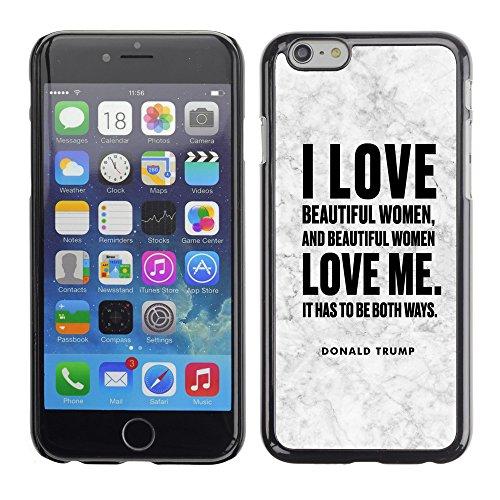 "Print Motif Coque de protection Case Cover // Q04040563 Donald Trump marbre vieilli // Apple iPhone 6 6S 6G 4.7"""