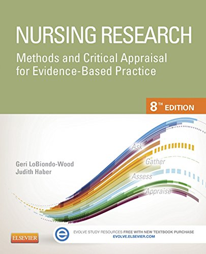 Nursing Research: Methods and Critical Appraisal for Evidence-Based Practice (Nursing Research: Methods, Critical Appraisal & Utilization) Pdf