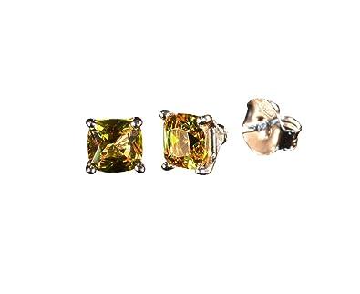 31c32d6e6 Tingle Stud Earrings For Men Alexandrite Fine Jewelry Changing Colors Gem  Stud Earrings 925 Sterling Silver