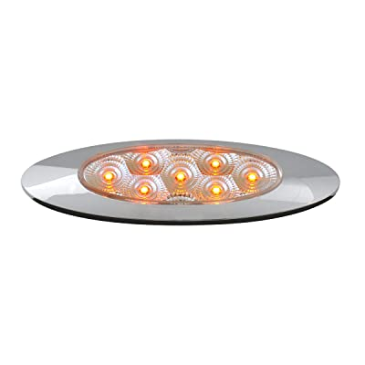 GG Grand General 77846 Amber/Clear LED Light (Ultra Thin Spyder Y2K 7, High/Low 3W): Automotive