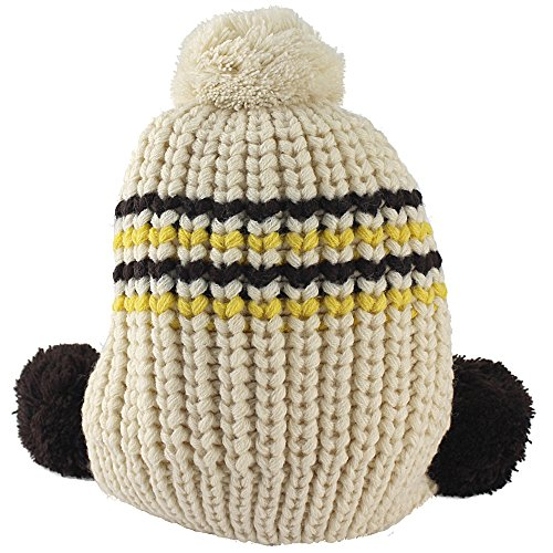 Sealive Fashion Winter Hat Baby Girls Boys Cute Warm Two Balls Wool Knitted Caps Toddlers Children Hat Beanie Cap