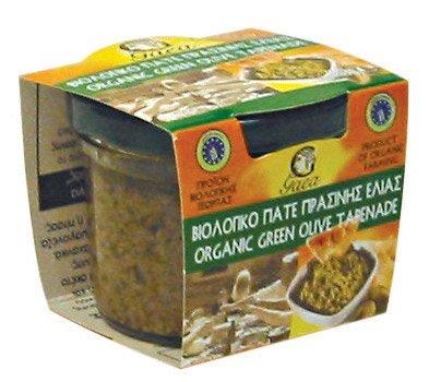 ORGANIC GREEN OLIVE TAPENADE 100% NATURAL GREEK PRODUCT ()