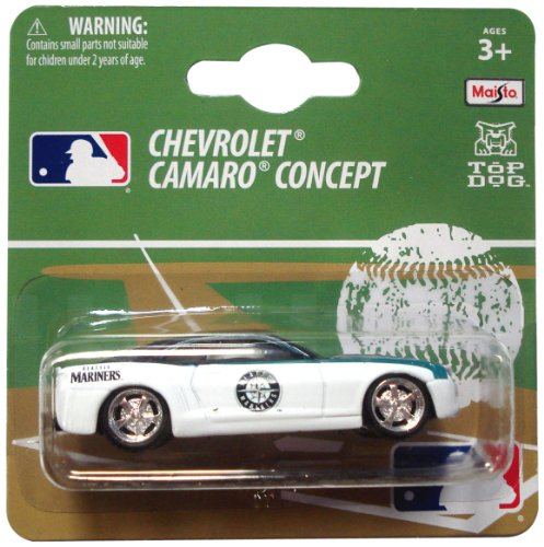 MLB Seattle Mariners 1:64 Camaro Die Cast Car