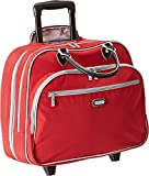 Baggallini Carryon Rolling Travel Tote, Apple, One Size