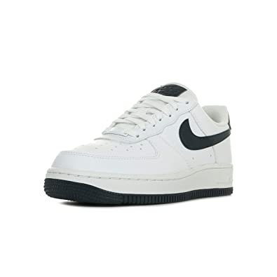 Nike Women's Air Force 1 '07 Shoe Basketball Obsidian White