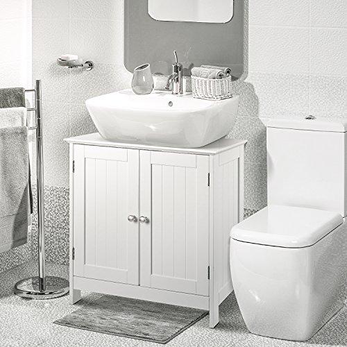 Homfa Bathroom Under Sink Vanity Cabinet Multipurpose