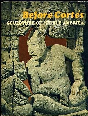 Before Cortes Sculpture of Middle America Centennial Exhibition 1970 from Generic