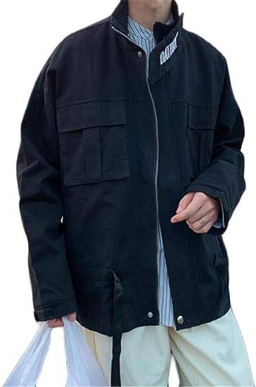 [フ二ンー] ジャケッ メンズ ジップ パーカー 大きいサイズ 秋冬服 スポーツ ゆったり 原宿風 カジュアルジャケット