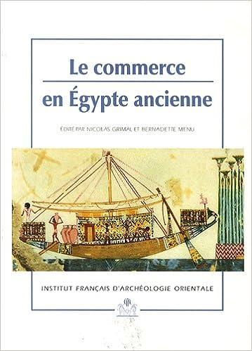 Livre Le commerce en Egypte ancienne pdf, epub