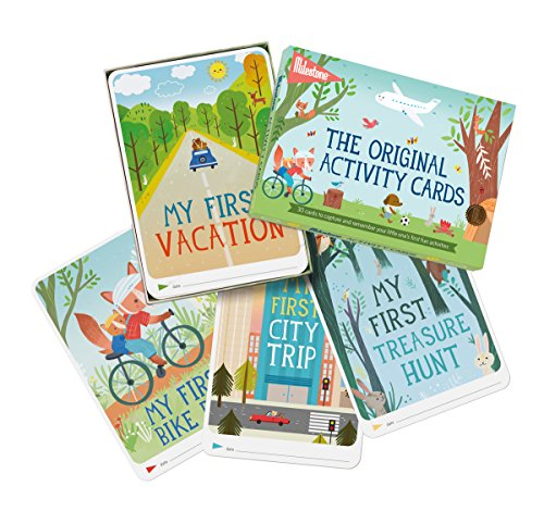 Milestone - Activity Photo Cards - Set of 30 Photo Cards to Capture Your Little One's First Adventures and ()