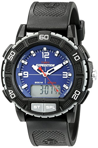 Timex Men's T49968 Expedition Double Shock Watch with Resin Band