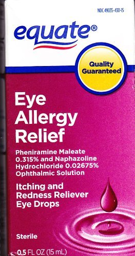 Eye Allergy Relief, 0.5 fl oz, Itching and Redness Reliever, By (Allergy Relief Eye Drops)