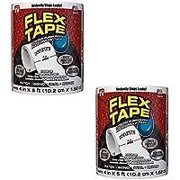 Shop Tory Flex Tape: plakband, waterdicht en waterbestendig, zeer duurzaam, wit, 2 stuks