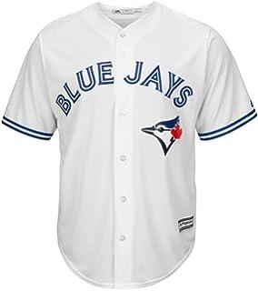 188fb76fb VF Toronto Blue Jays MLB Majestic Mens Cool Base Replica Jersey White Big    Tall Sizes