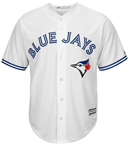 b3a0d4735 VF Toronto Blue Jays MLB Majestic Mens Cool Base Replica Jersey White Big    Tall Sizes