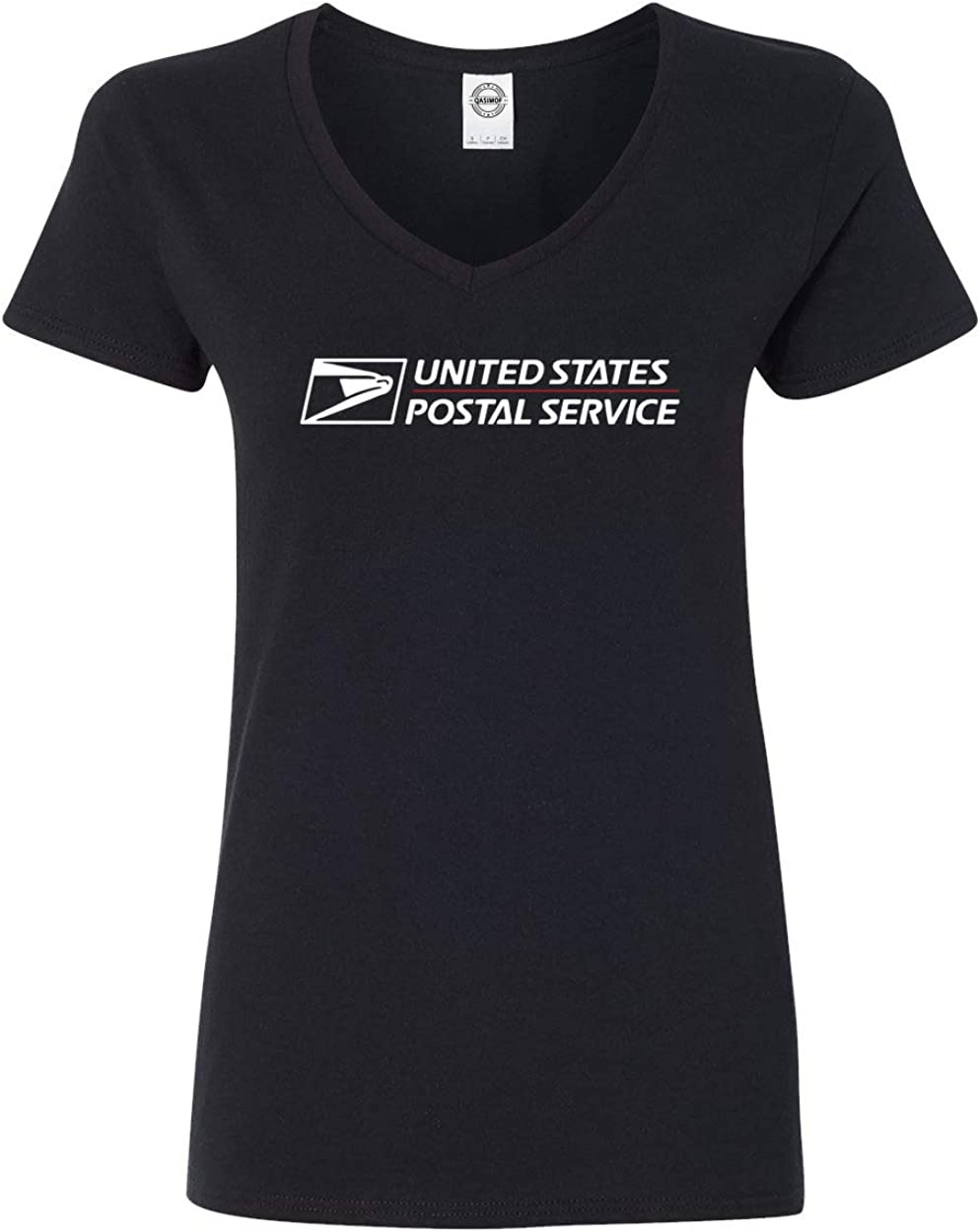 Post Office United States Service Eagle Women's V-Neck T-Shirt